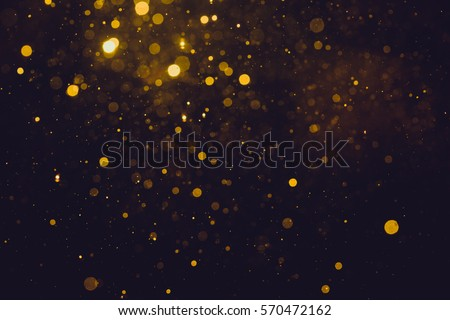 Gold abstract bokeh background #570472162
