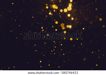 Gold abstract bokeh background - Shutterstock ID 580746421