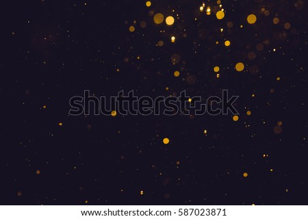 Gold abstract bokeh background - Shutterstock ID 587023871