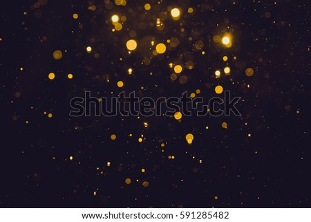 Gold abstract bokeh background - Shutterstock ID 591285482