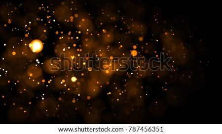 Gold abstract bokeh background. real backlit dust particles with real lens flare. glitter lights . Abstract Festivevintage lights defocused. Christmas and New Year feast. - Shutterstock ID 787456351