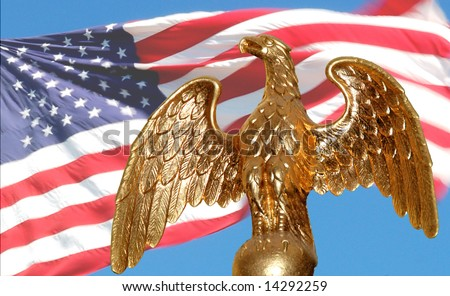 american flag background with eagle. Thisour american flag these