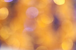 Gold and purple snowflakes background