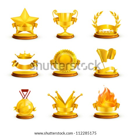 Gold awards, set bitmap copy
