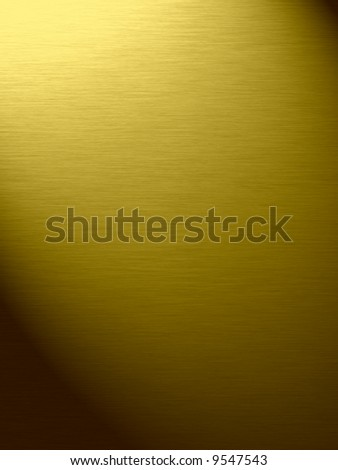Gold background in light (background, wallpaper, flyer...)