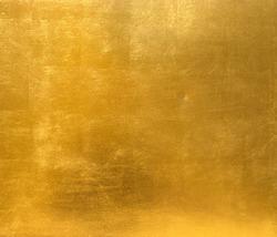 Gold background metal sheet metal surface gold