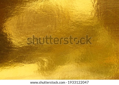 Gold background or texture and Gradients shadow Foto stock ©