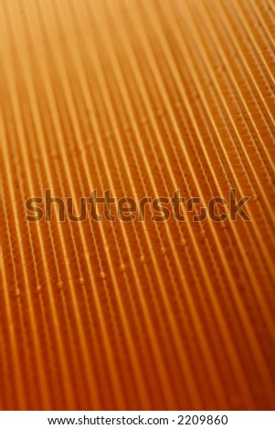 gold background with parallel lines fading to infinity