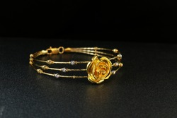 Gold bangle jewellery