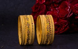 Gold Bangles Photography