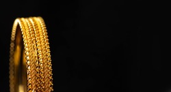 Gold bangles / wedding bangles / Traditional gold bangles - Indian tradition
