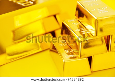 gold bars background