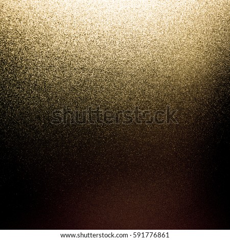 gold black glitter sparkle background texture vintage light abstract blur bright brown dark for christmas card and happy new year celebration holiday and cosmic design de-focused. #591776861