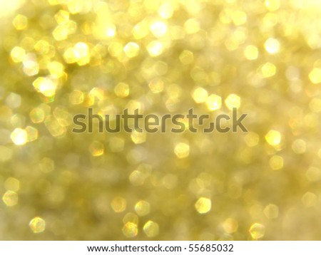 gold blurry lights, raster illustration