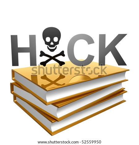 Gold books about computer and internet hacking