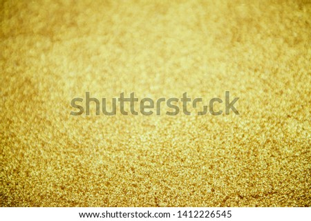 gold bright bokeh abstract background defocused lights #1412226545