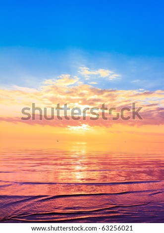 Stock Photo Gold Cast from the Sky