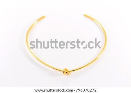 gold choker necklace #796070272