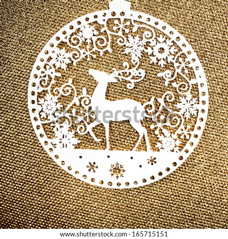 White And Gold Christmas Background Gold Christmas Background With