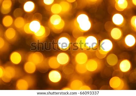 Gold Lights Backgrounds Gold christmas lights