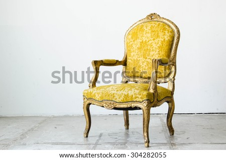 gold classical style sofa couch ...