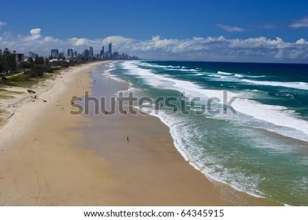 gold coast queensland australia. stock photo : Gold Coast