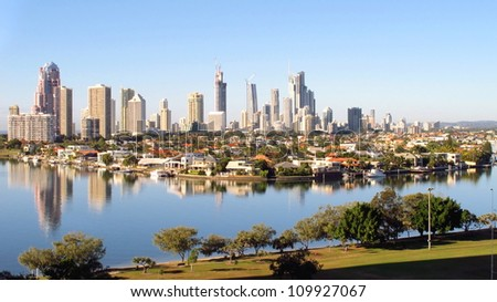 Gold Coast City early morning