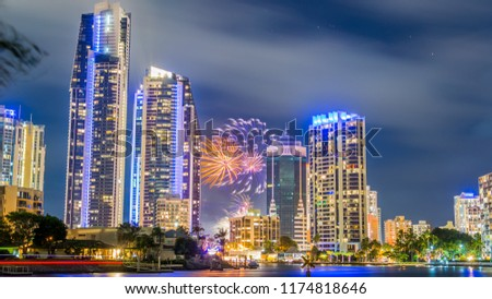 Gold Coast Fireworks