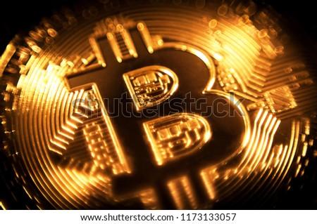 Gold coin bitcoin.