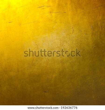 Gold colored wallpaper