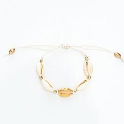Gold Cowrie Shell Bracelet Jewelry