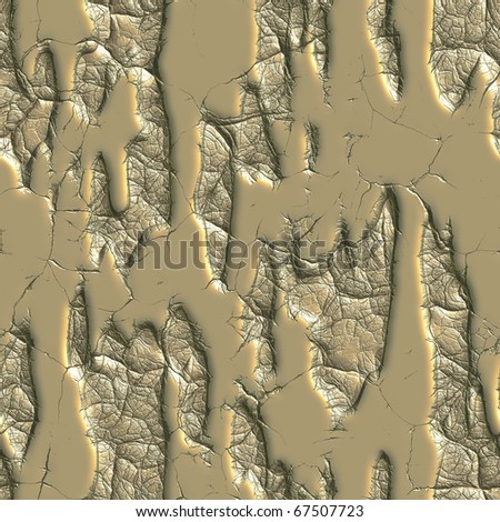 gold cracked eroded background pattern