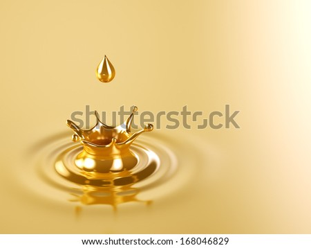 Gold Crown Splash