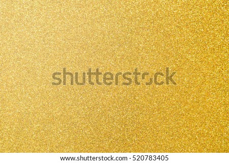 Gold foil leaf shiny wrapping paper glittering texture background for wallpaper decoration element