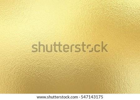 Gold foil paper decorative texture background for artwork