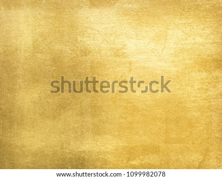 Gold  foil texture background #1099982078