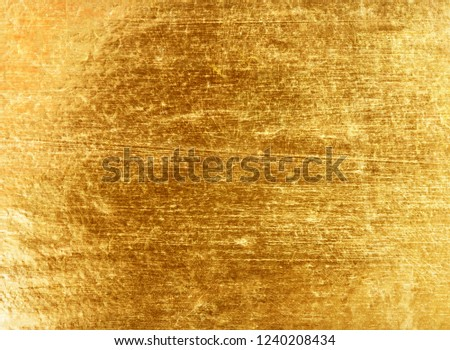 Gold foil texture background #1240208434