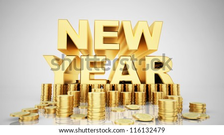 Gold for Happy new year