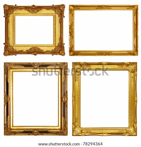 Gold frames, similar sets available four options available to format