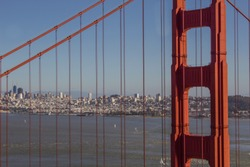 Gold Gate Bridge of San Fransisco