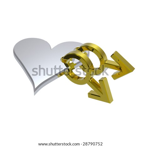 stock photo gold gay sex symbol linked with silver heart computer generated d photo rendering 28790752 ... promises all the sex and fun of Geordie Shore but set in South Wales