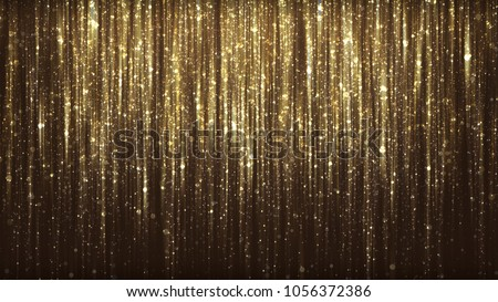 Photo of  gold glitter background