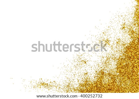 Gold Glitter for Background