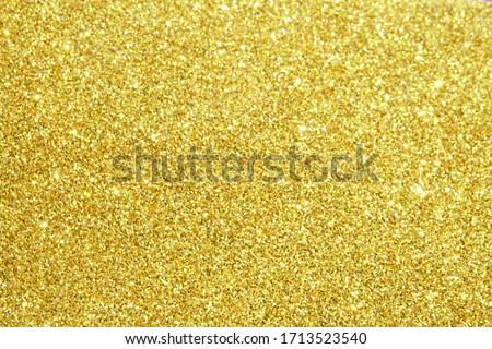 gold glitter lights texture bokeh background Christmas