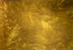 Gold glitter liquid texture background