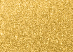 Gold glitter texture sparkling shiny wrapping paper background for Christmas holiday seasonal wallpaper  decoration, greeting and wedding invitation card design element
