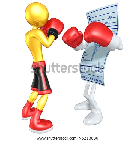 Gold Guy Boxer Versus Medical Prescription