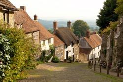 Gold Hill, Shaftesbury, Dorset, England