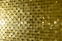 Gold Holiday New year Abstract Glitter Defocused Background,  Blurred Bokeh, Idea for Christmas, New year and Happy hollidays background