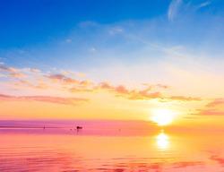 Gold Horizon Sun